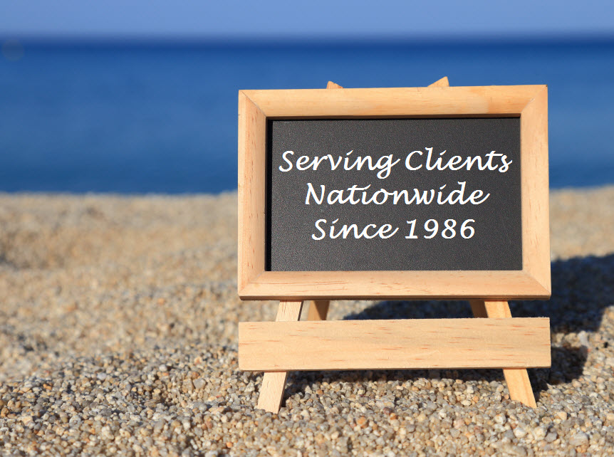 seving clients nationwide 1986